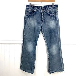 Flypaper distressed jeans 34 waist